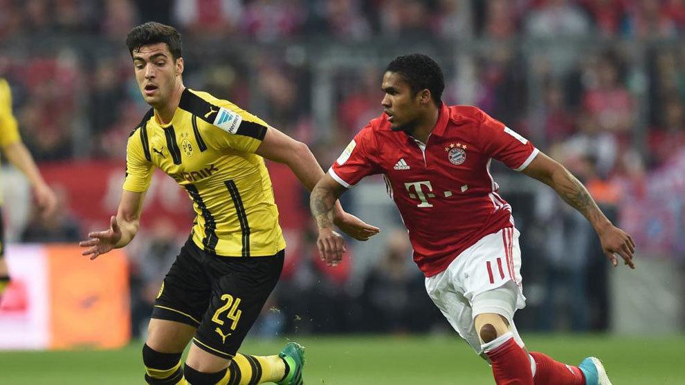 Merino contra el Bayern de Munich
