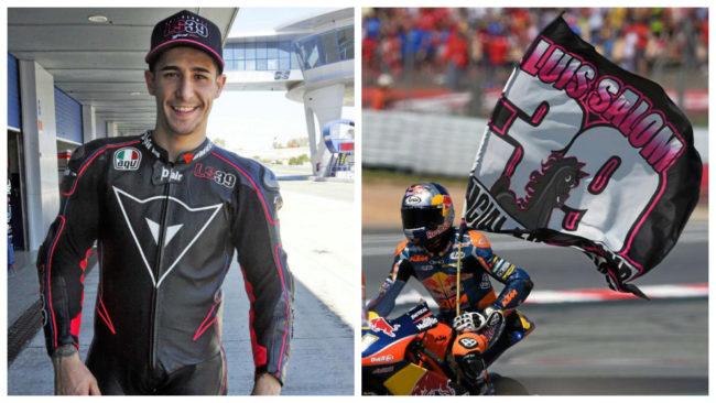 Salom (izq), en su �ltima imagen para MARCA en Jerez.