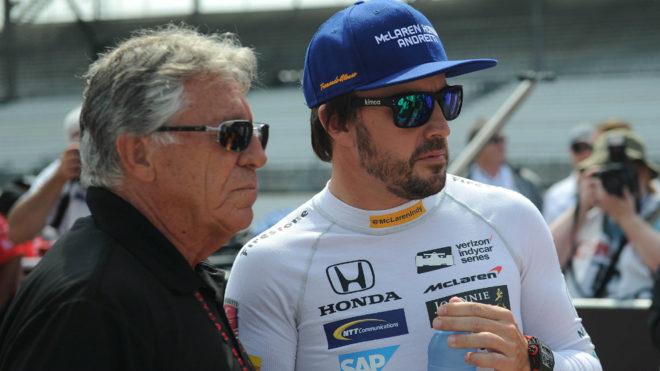 Mario Andretti y Fernando Alonso.