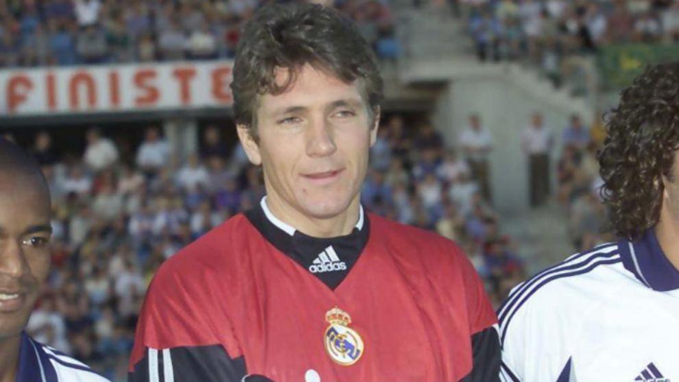 Bodo Illgner con la camiseta del Real Madrid