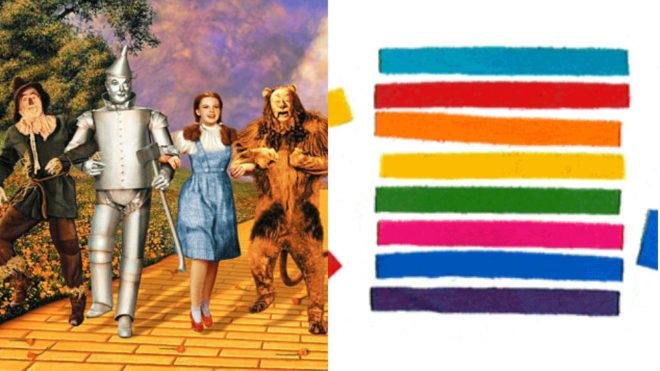 El artista se inspiró en el tema 'Over the rainbow' de 'El mago de...