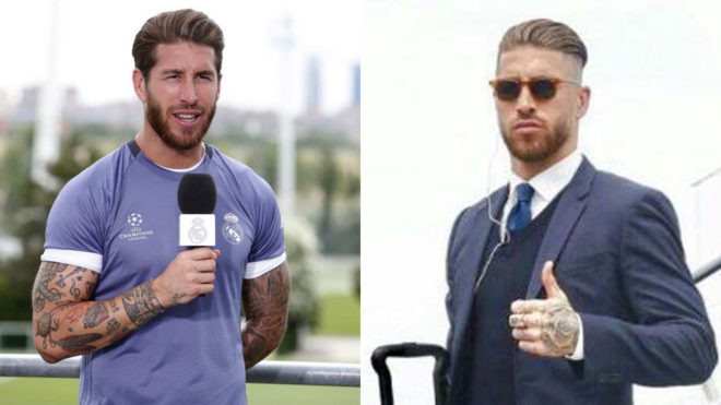 Sergio Ramos Changes Hairstyle For The Final Marca In English