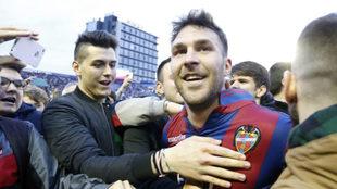 El jugador del Levante Víctor Casadesús