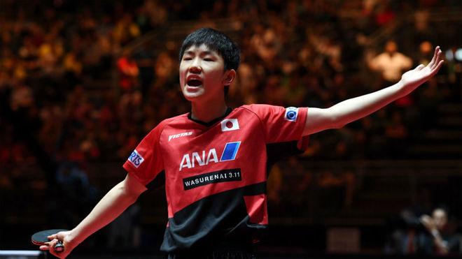 Tomokazu Harimoto, en el Mundial.
