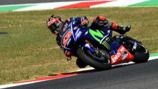 Maverick Vi�ales, piloto de Yamaha