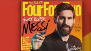 Portada de la revista Four Four Two