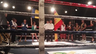 Ceremonia de himnos en el Paraschiveanu-Adasat Rodr�guez
