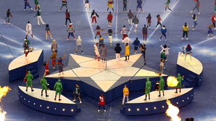 El escenario vibró con la presentación de Black Eyed Peas.