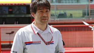 Tetsuhiro Kuwata, director de Honda HRC.