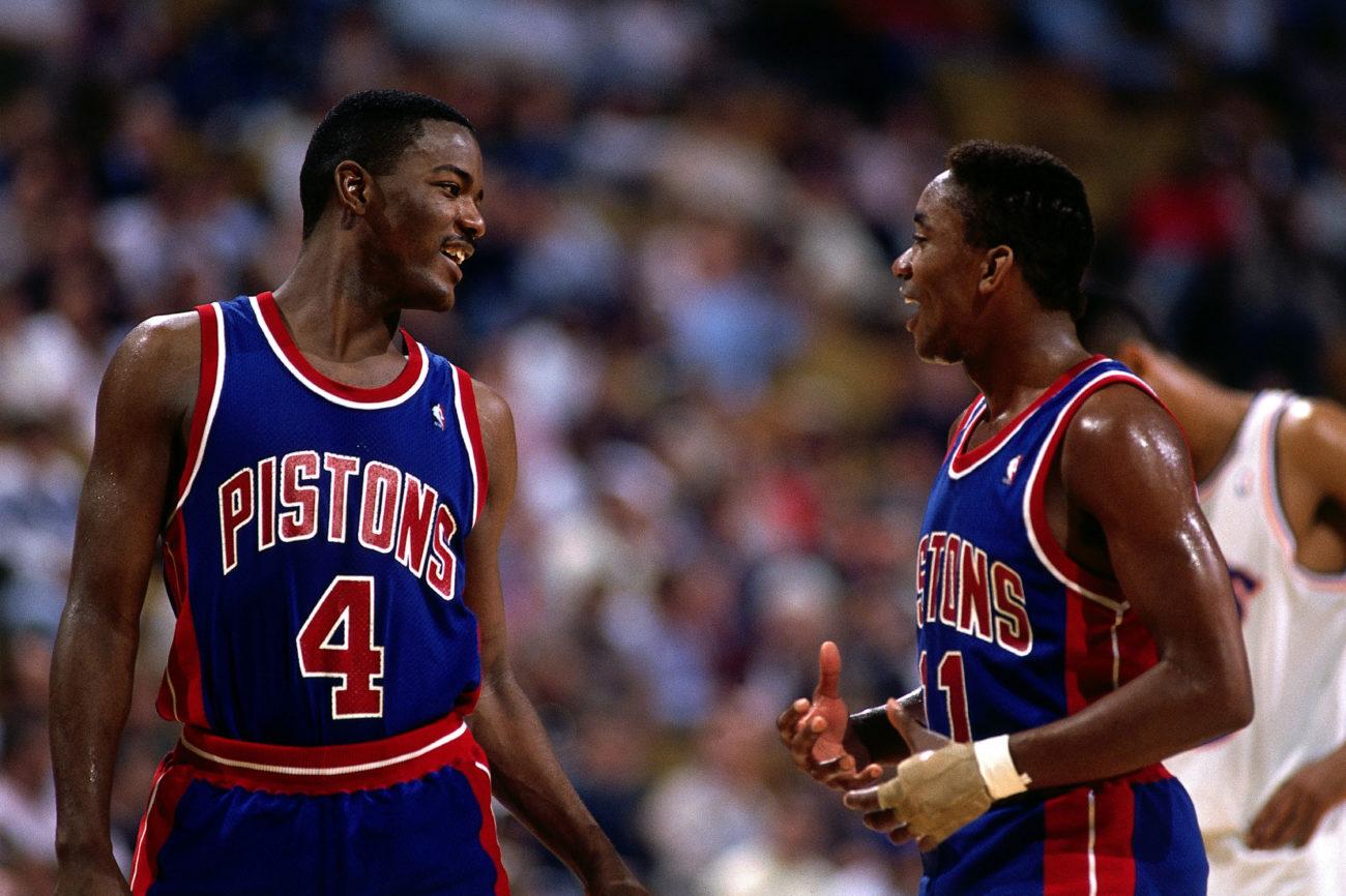Finales NBA 2017 Isiah thomas y joe dumars detroit pistons