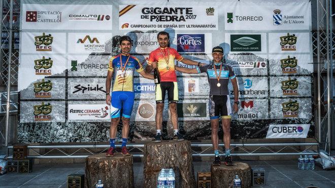 Albuzu, Muñoz y Márquez conformaron el podium de vencedores en la...