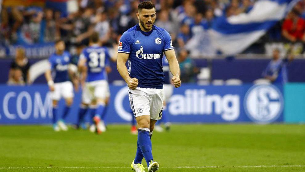 Kolasinac, en su etapa en el Schalke 04