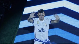 Pepe en la celebración de la Duodécima.
