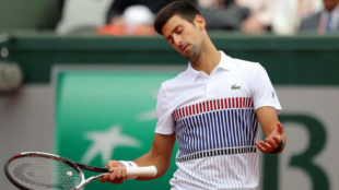 Djokovic protesta