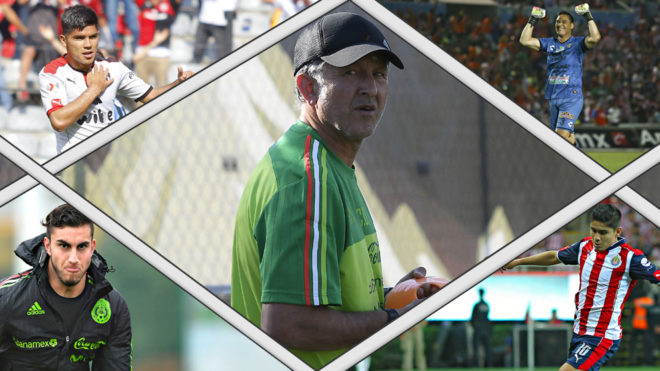 Las sorpresas de Osorio en la convocatoria para Copa Oro