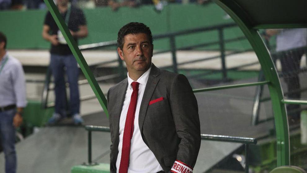 Rui Vitoria con el Benfica