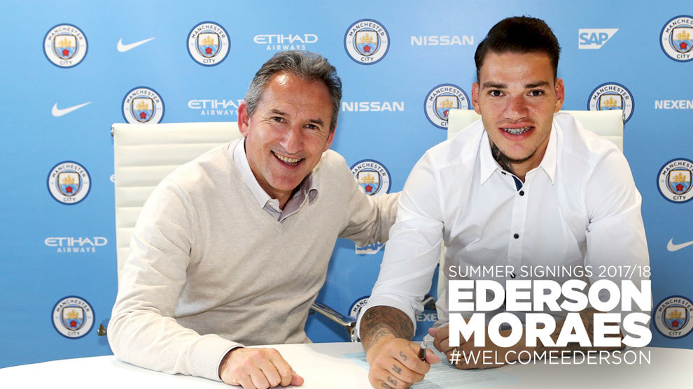 premier league ederson moraes ya es oficialmente un citizen. Black Bedroom Furniture Sets. Home Design Ideas
