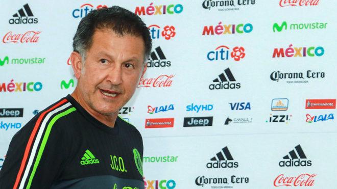 Osorio, tras una conferencia de prensa.