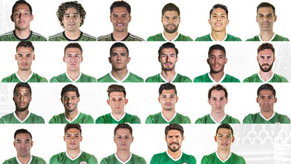Selección Mexicana: Los 23 de Osorio para la Confederaciones   MARCA ...