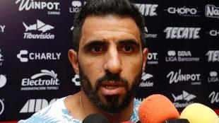 Pellerano reportó a los entrenamientos con Veracruz.