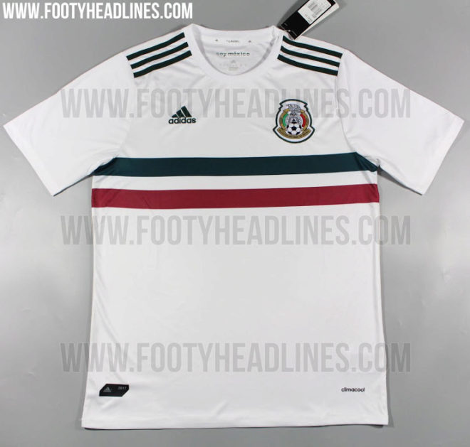 04ee8e9fcf3ed Selección Mexicana  Se filtran los posibles uniformes y playeras de ...