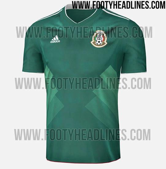 ec2e4dbf352b8 Selección Mexicana  Se filtran los posibles uniformes y playeras de ...