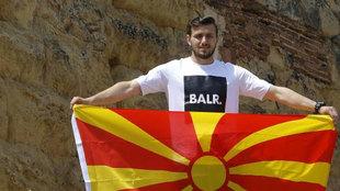 Dimitrievski, portero de Macedonia y del Nàstic.