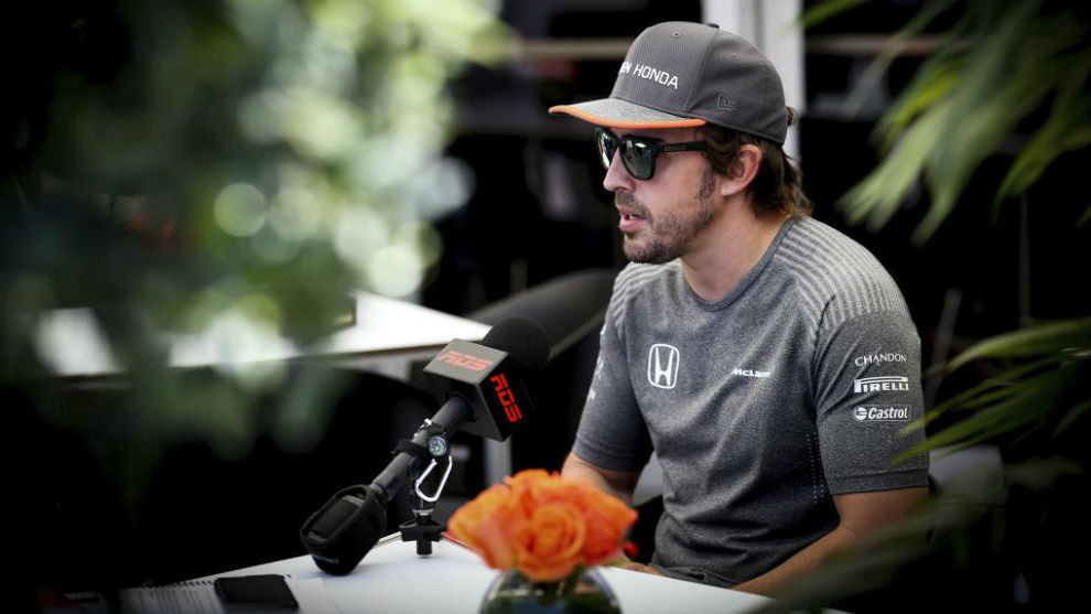 Alonso, en Montreal