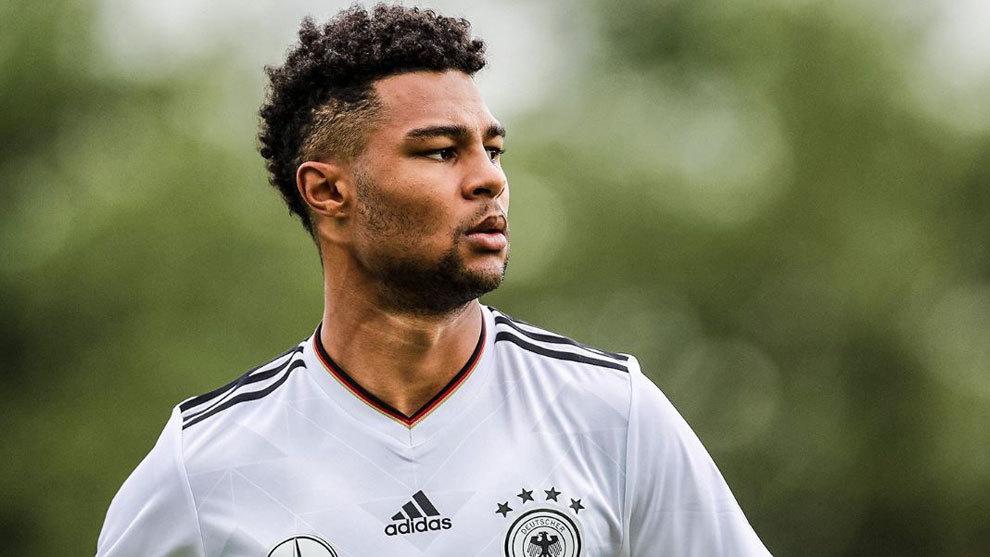 Gnabry con la selección alemana