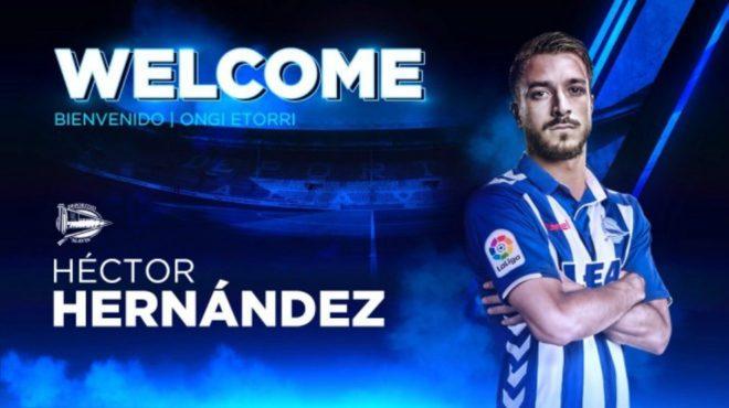 El Alavés da la bienvenida a Héctor