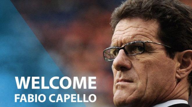 Capello inicia una nueva aventura en China