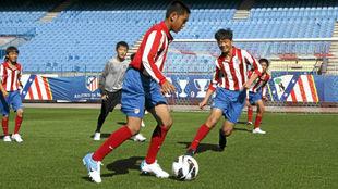 Varios integrantes del Proyecto Wanda, en el Calderón.