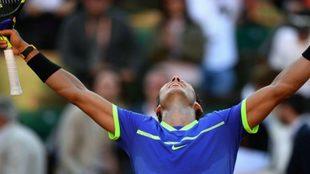 Rafa Nadal celebra su décimo Roland Garros
