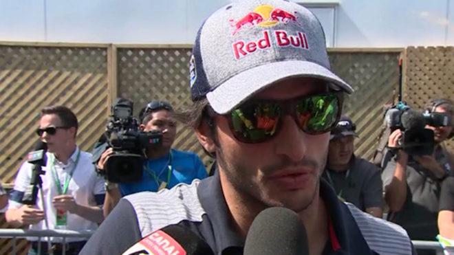 Sainz, tras la conclusión del GP de Canadá.