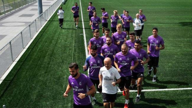 El Madrid en la pretemporada