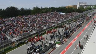 El circuito Gilles Villeneuve.