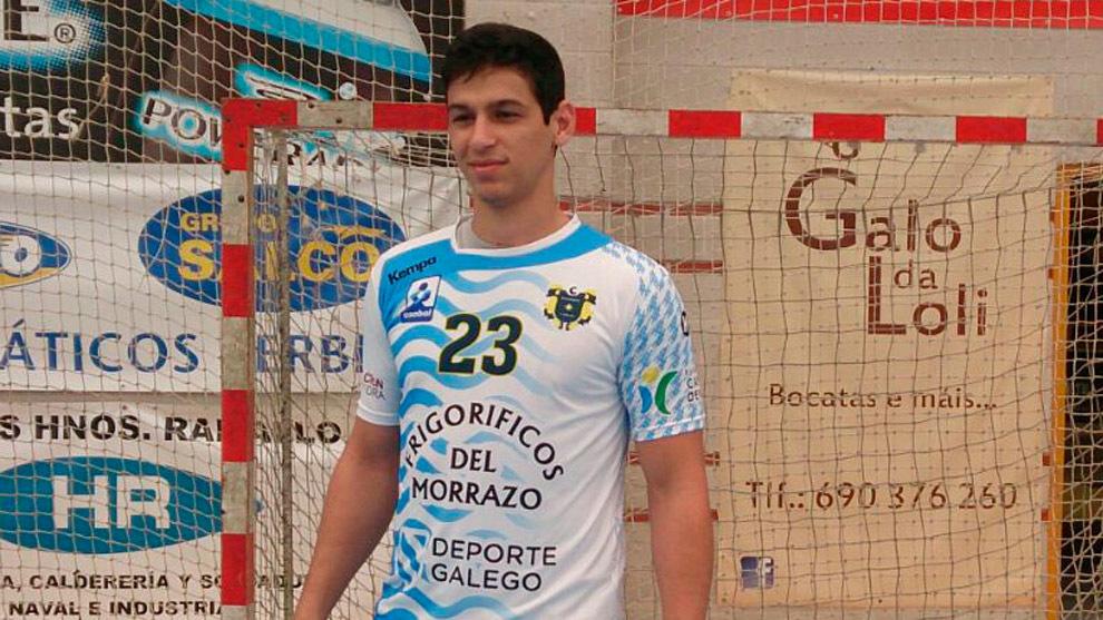 Pedro Hernique Hermones durante su presentación como jugador del...