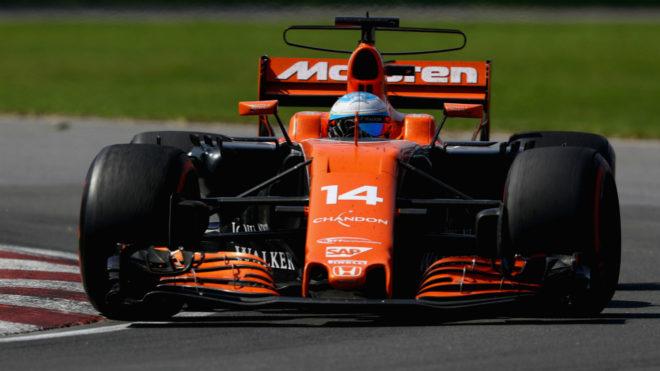 Alonso, en el GP de Canadá.