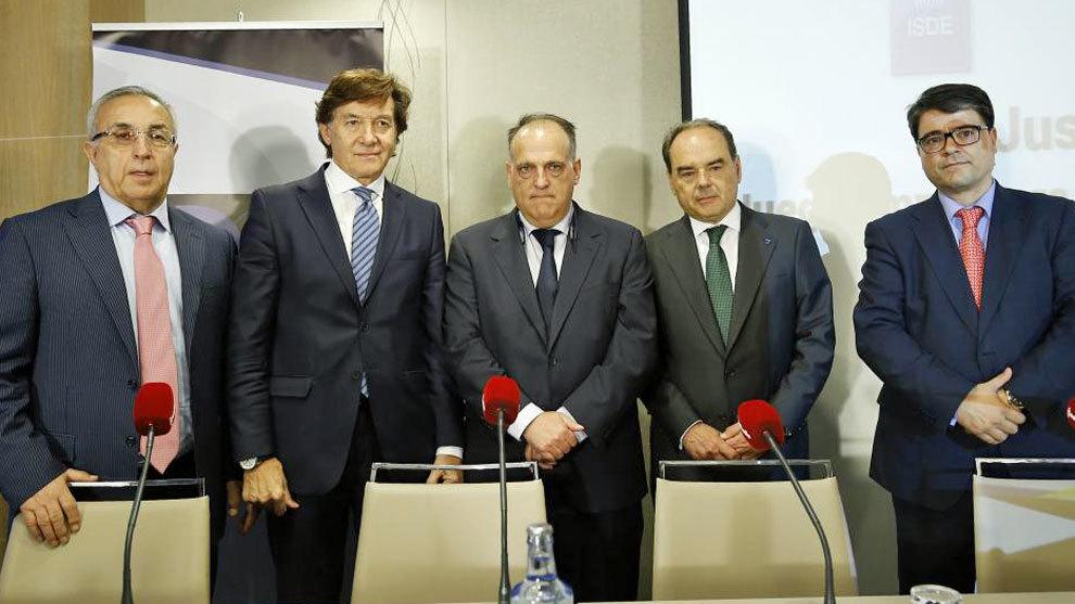 Imagen de la reunión que ha tenido lugar este martes