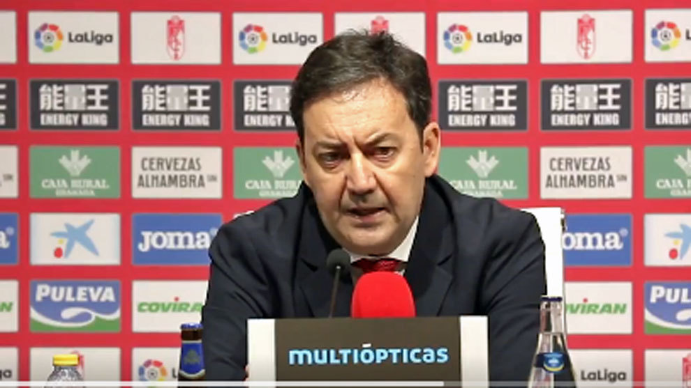 Antonio Fernández, en su presentación como director general del...