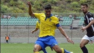 Borja Herrera, en una imagen de esta temporada