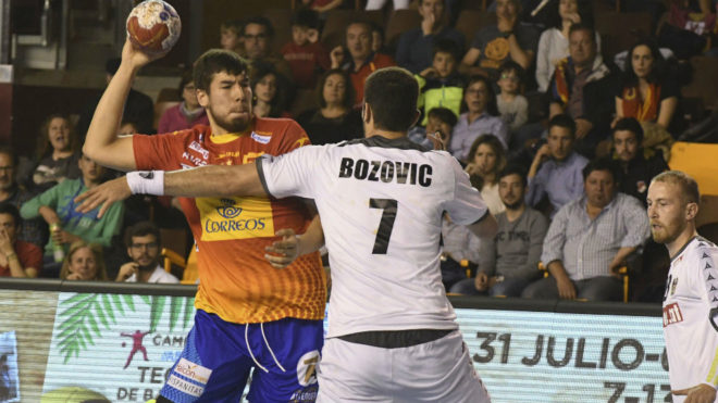 Daniel Dujshebaev, uno de los júniors convocados para la selección...