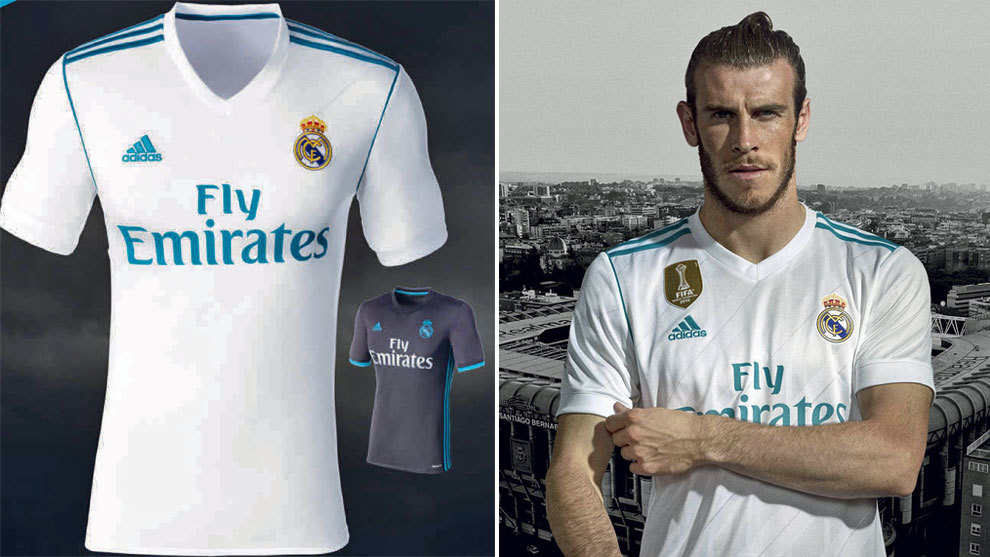 bbe6f832126 Real Madrid unveil 2017/18 home kit. The evolution ...