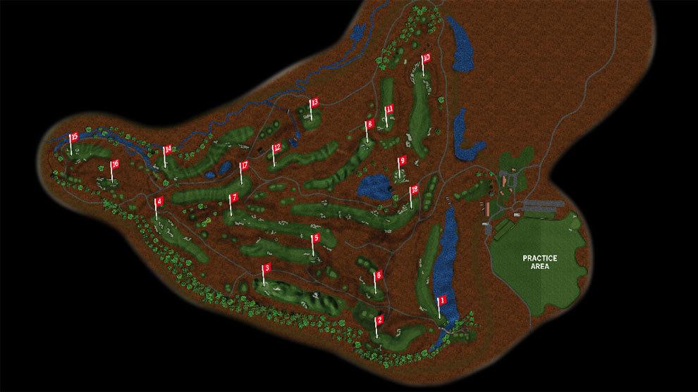los 18 hoyos de erin hills al detalle