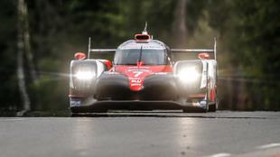 El Toyota #7, en la jornada de hoy