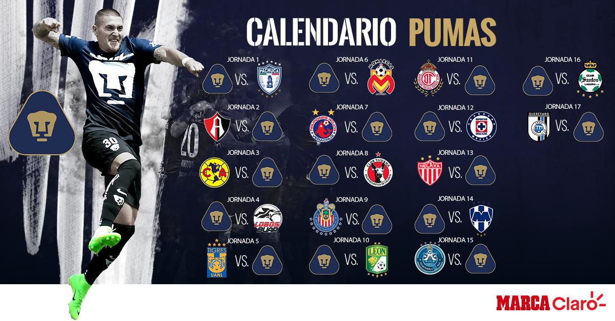 calendario de futbol marca