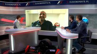 Kubica, en la cadena polaca ElevenSports.
