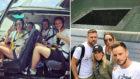 Rakitic, unas vacaciones de altos vuelos en Nueva York