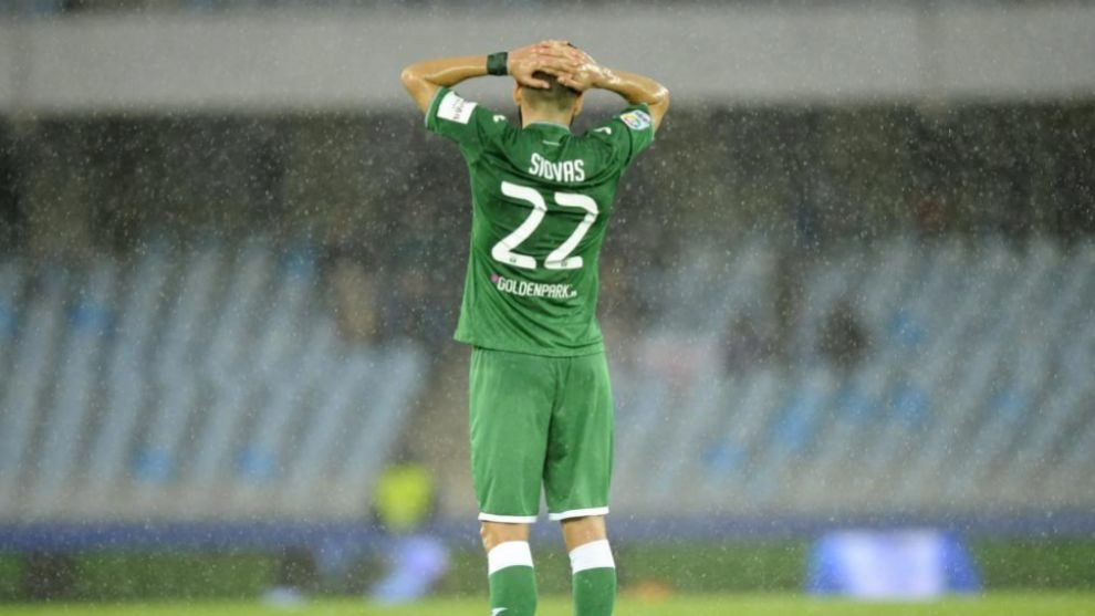 Siovas podría ser jugador del Leganés en los próximos días