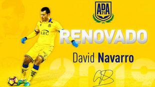 David Navarro será jugador del Alcorcón hasta 2019